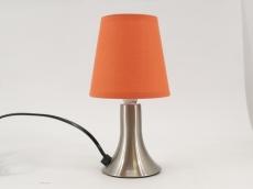 Светильник настольный Camelion KD-400  оранжевый (декоративный, сенсорн. включ-е, 220V,40W, E14)