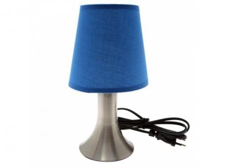 Светильник настольный Camelion KD-400  синий (декоративный, сенсорн. включ-е, 220V,40W, E14)