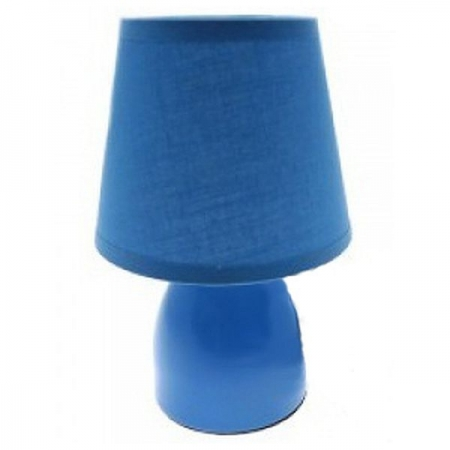 Светильник настольный Camelion KD-401 синий (декоративный, 220V,40W, E14)
