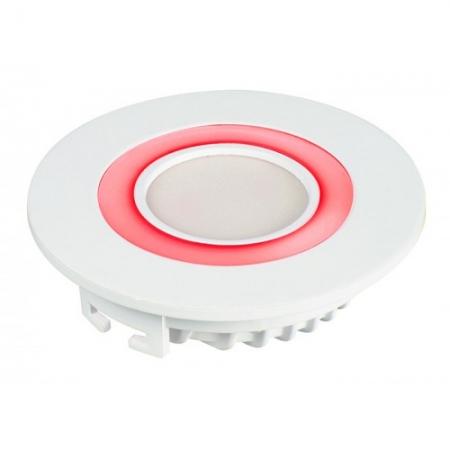Jazzway светодиодная  круглая панель PPL-R 12085 (12031) 6W/2W 6500K red 3 pin