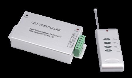 Контроллер RGB ZC-2000RC 12V 3x4A =144Вт (RF)