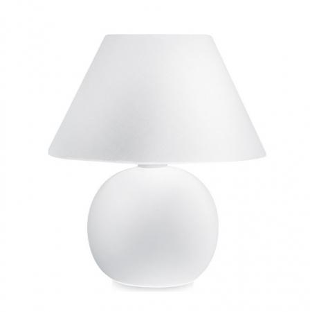 Светильник настольный Camelion KD-408  C01 белый ( декоративный, 220V,40W, E14)