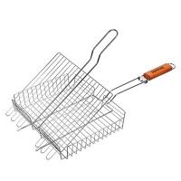Решетка-гриль универсальная, картонный веер в ПОДАРОК, 62(+5)x30x25x5,5 cм BOYSCOUT /8