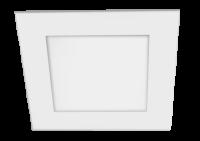 Jazzway светодиодный встраиваемый квадр PPL - SPW белый 12w 4000K 170*170*25mm IP20