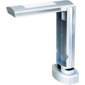 Светильник настольный Camelion KD-007 C03 серебро, 230V 9W
