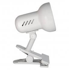 Светильник прищепка метал. Camelion Н-035 C01 белый 220V 60W