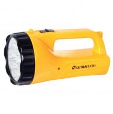Фонарь Ultraflash UF3712LED (аккум 220В/12В, желтый, 19 LED, 4В 2Ач, пластик, коробка)/20