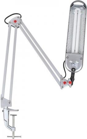Светильник настольный Camelion KD-008С C03 серебро, 230V 11W