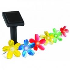 Cветильник на солнечной батарее ЭРА SL-PL400-FLW10 пластик, цветной, черный, длина 400 см