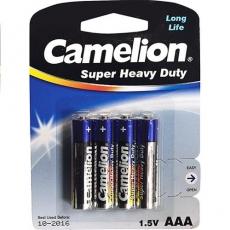 Батарейка Camelion R03P-BP4 BLUE 48/1152