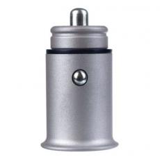"""PERFEO Автомобильное зарядное устройство с двумя разъемами USB, 2x2.4А, серебро, """"AUTO 2"""" /50"""