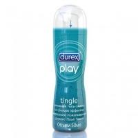 Смазка Durex Play Tingle со свежим эффектом морозного покалывания 50 мл с дозатором
