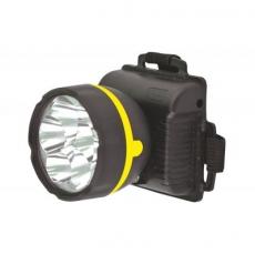 Фонарь Ultraflash 909LED5 (фонарь налобн, черный, 5LED, 1 реж, 3XR6, пласт, коробка) 1/100
