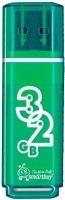 USB флэш-диск SmartBuy 32GB Glossy series Green