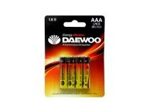 Батарейка DAEWOO LR03 BL-4 ENERGY Alkaline 40/960