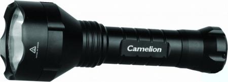 Фонарь Camelion LED 5154RA (фонарь аккум 220В, черн., 10W) 1/6/36