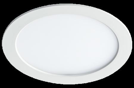 Jazzway светодиодная круглая панель PPL-RPW белый 18w 4000K d225*25mm IP20 Jazzway