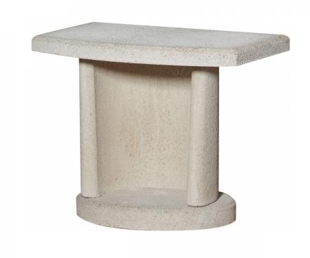 Боковой столик для барбекю Buschbeck, цвет белый