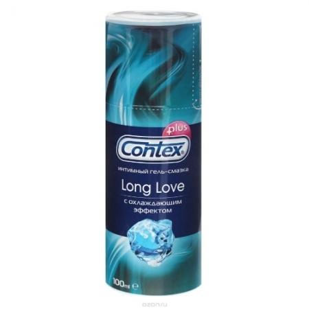 Лубрикант Contex Long Love, 100 мл с дозатором