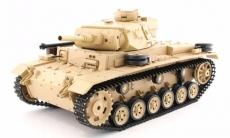 Радиоуправляемый танк Tauch Panzer III Ausf.H 1:16 (3849-1)
