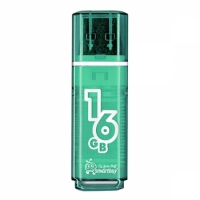 USB флэш-диск SmartBuy 16GB Glossy series Green