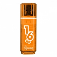 USB флэш-диск SmartBuy 16GB Glossy series Orange