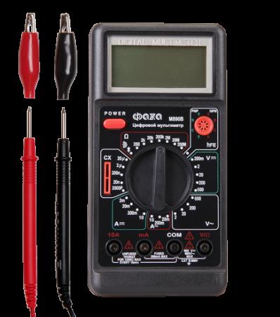 Мультиметр (вольтметр+амперметр+тестер) ФАZA цифровой М890В