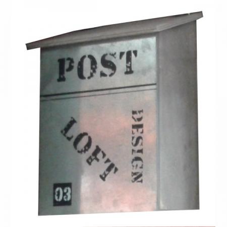 Почтовый ящик металлический Post