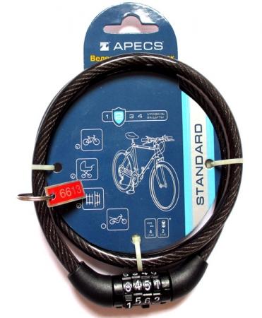 Замок велосипедный Apecs кодовый
